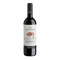 Vinho Italiano Tinto ZONIN Ventiterre Valpolicella Garrafa 750ml