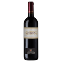 Vinho Italiano Tinto Santadi Antigua Monica Sardegna Garrafa 750ml